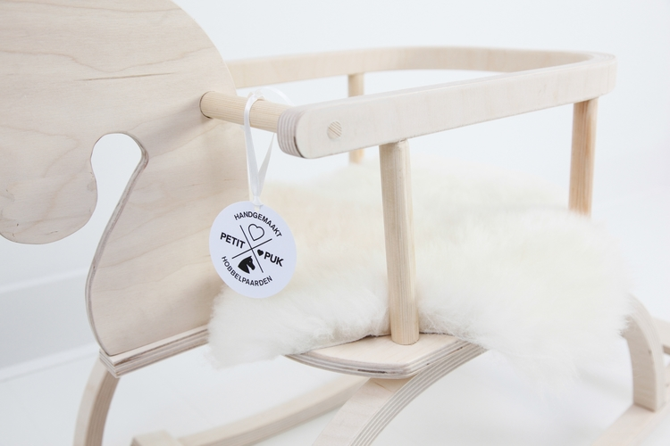 Rockinghorse sheepskin, Petit Puk