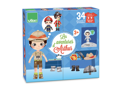 NEW: Doll Arthur with magnetic clothes