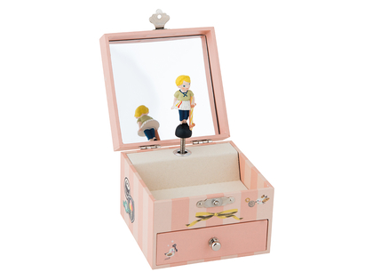 NEW: Musical box 'Les Parisiennes' with jewelry case
