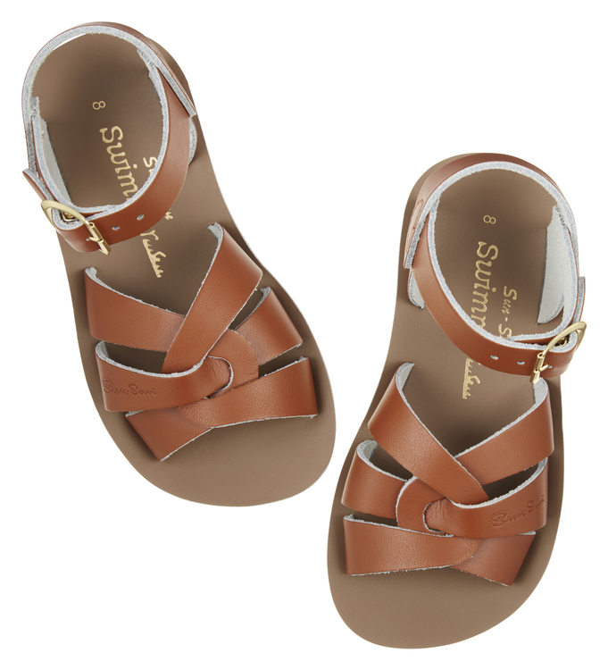 NEW Saltwater sandals, Swimmer tan, EU 21-34
