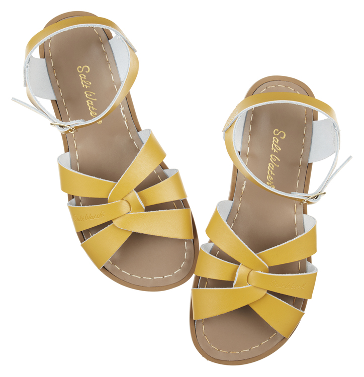 53dae502fe73 Salt-water sandals mustard. - salt water sandals womens yellow