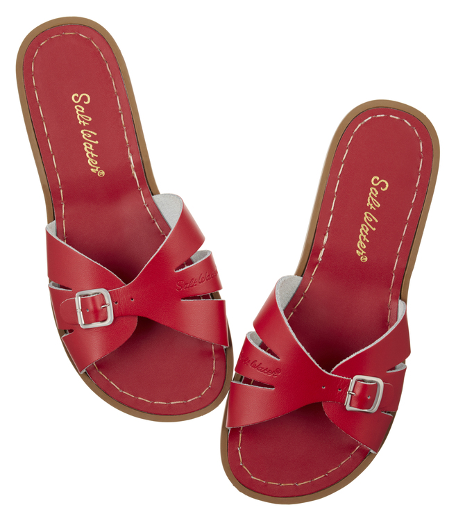NEW: Slides Red, Adult Salt-water sandals