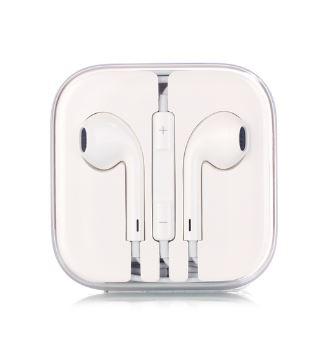 iPhone hörlurar med mikrofon och volymkontroll 3.5mm Airpod