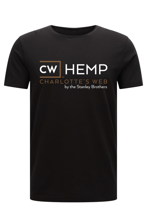 T-shirt CW-hemp, Svart