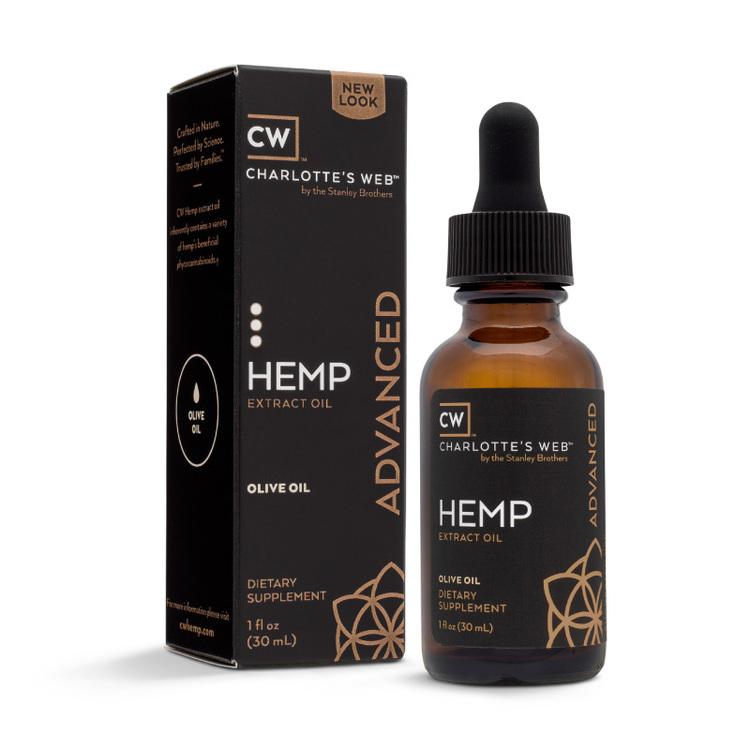 CW Hemp Everyday Advanced, Oliv, 30 ml