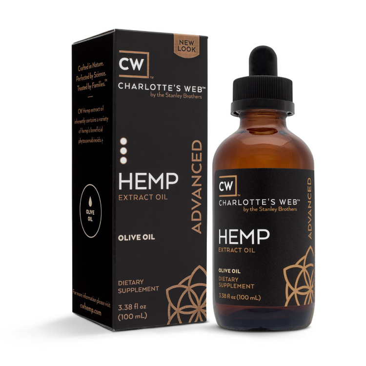 CW Hemp Everyday Advanced, Oliv, 100 ml