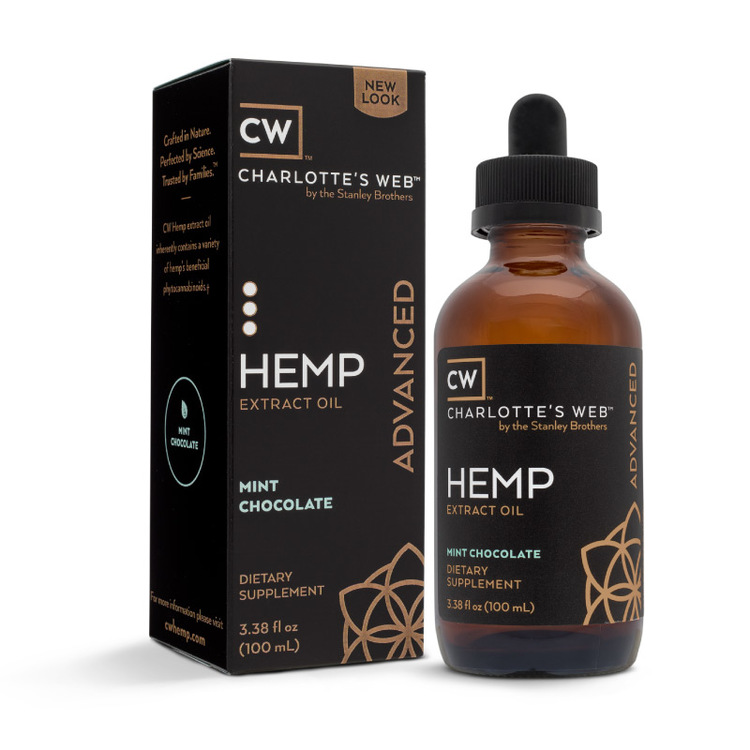 CW Hemp Everyday Advanced, Mint, 100 ml