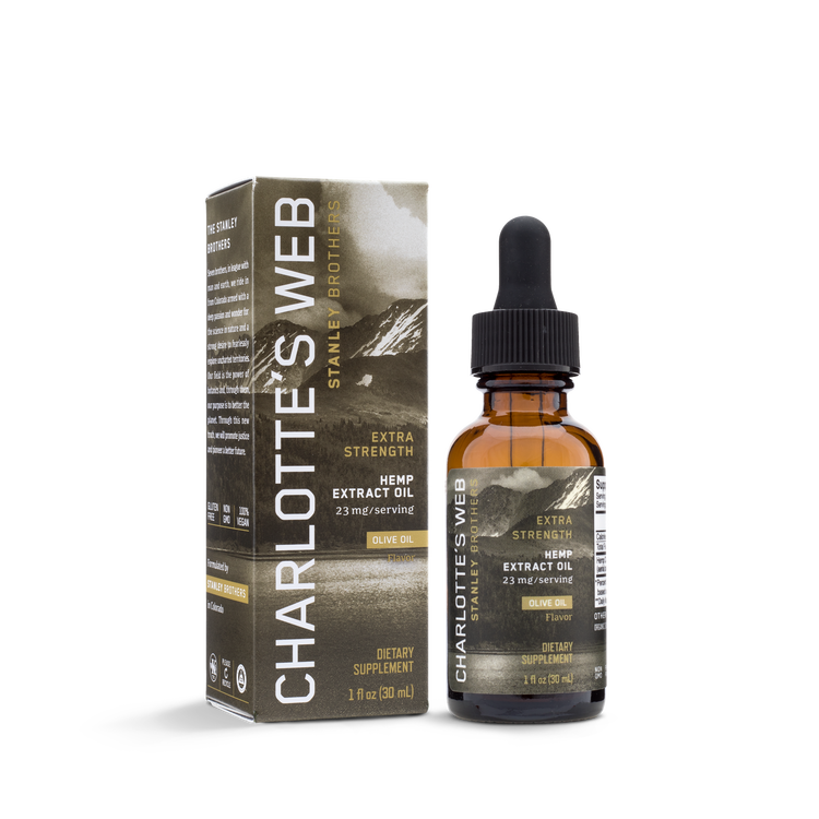 Extra Strength CBD-olja, 30 ml Oliv