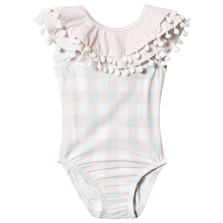 Livly Celine Swimsuit Pink Plaid