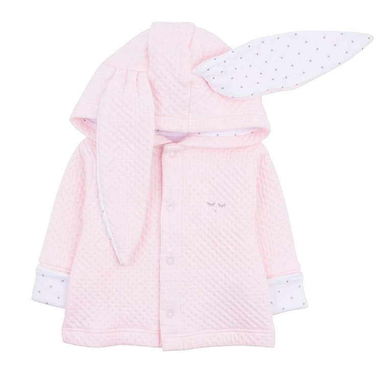 Livly Bunny Cardigan Pink/ White Saturday