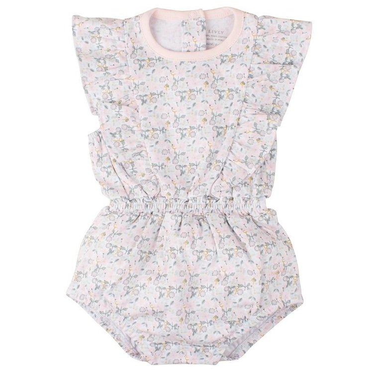 Lilly Romper Liberty Floral Mini