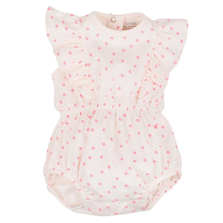 Livly Lilly Romper Pink Dlorais