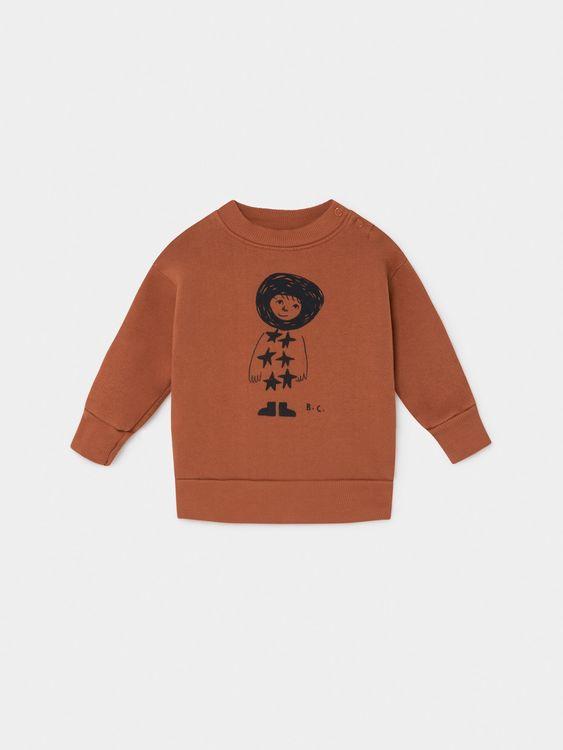 Bobo Choses Starchild Sweatshirt Picante