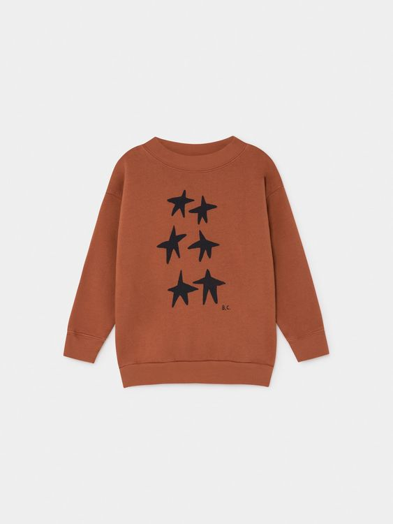 Bobo Choses Stars Sweatshirt Picante