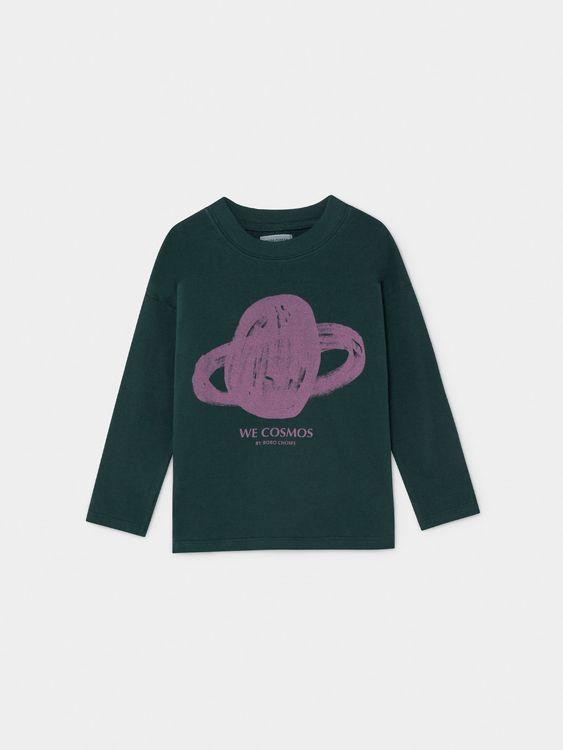 Bobo Choses Saturn Long Sleeve T-shirt Sea Moss