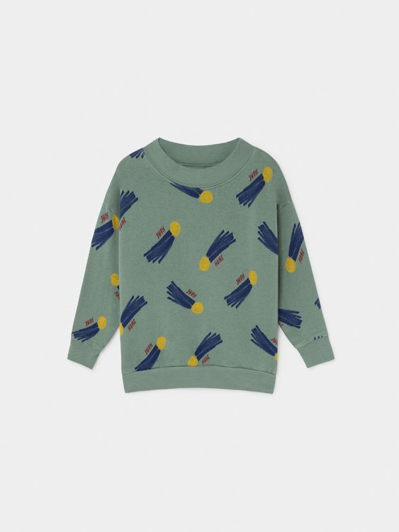 Bobo Choses All Over A Star Called Home Sweatshirt Iceberg