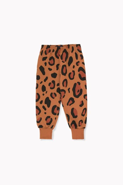 Tinycottons Animal Print Sweatpant Brown/Dark Brown