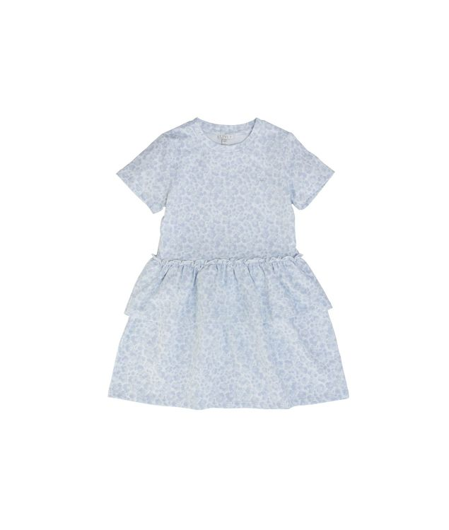 LIVLY Flower Leo Lilly Dress Blue