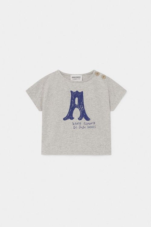 BOBO CHOSES A Dance Romance T-Shirt Light Grey