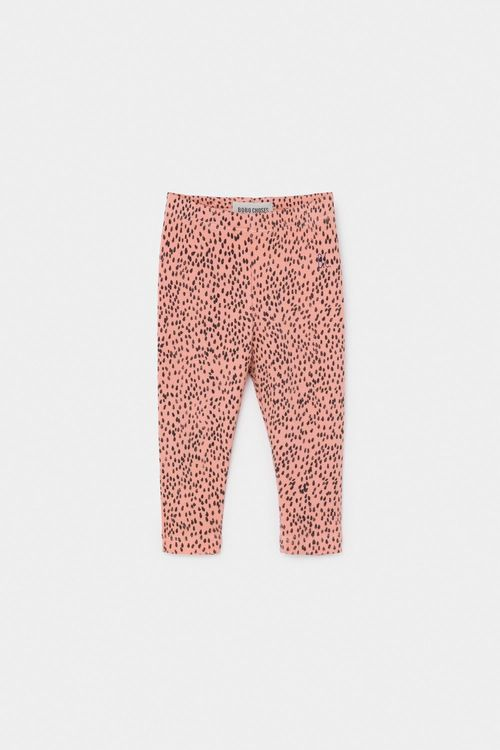 BOBO CHOSES All Over Leopard Pink Leggings Blooming