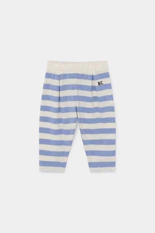 BOBO CHOSES B.C. Striped Jersey Trousers