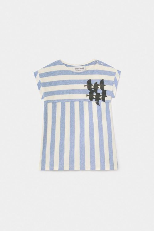 BOBO CHOSES Flying Birds T-Shirt Dress