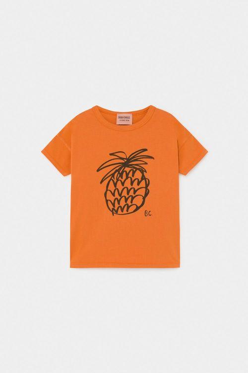BOBO CHOSES Pineapple T-Shirt Celosia