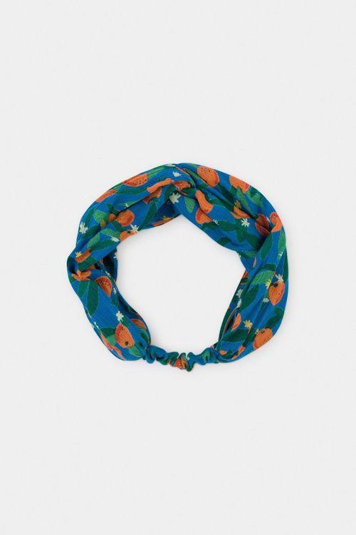 BOBO CHOSES All Over Oranges Headband Azure Blue