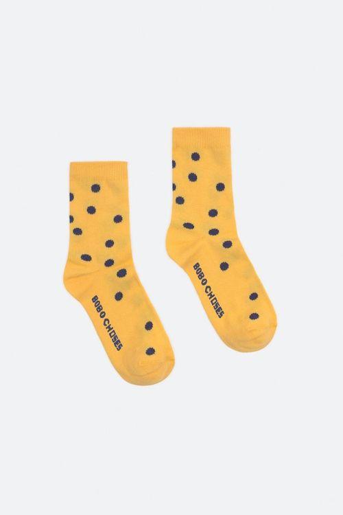 BOBO CHOSES Dots Short Socks Spectra