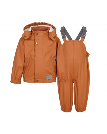 MarMar Rainwear Set Oddy Red Earth