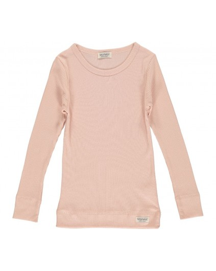 MarMar Plain Tee LS Rose