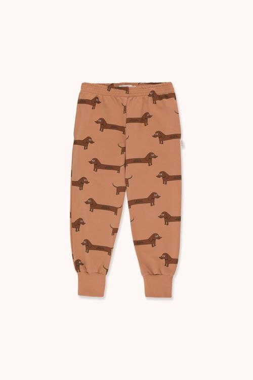 TINYCOTTONS Il Bassotto Sweatpant Tan/Dark Brown