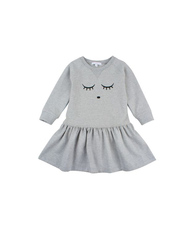 Livly Sweatshirt Dress Grey Melange
