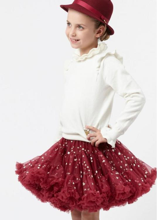 Angel's Face Stella Tutu Tibetan Red