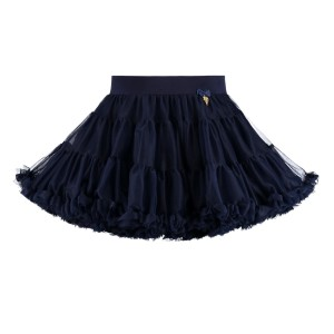 Angel's Face Charm Tutu Skirt Black