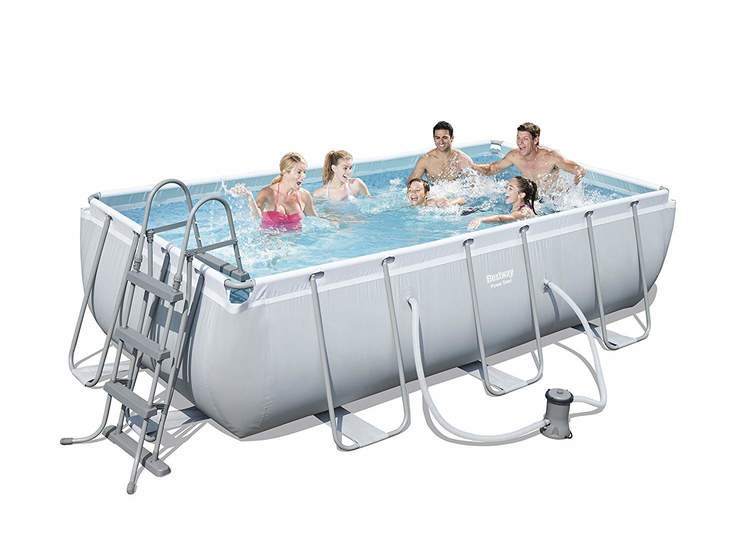 Bestway Power Steel Frame Pool 404x201x100 cm (56441)