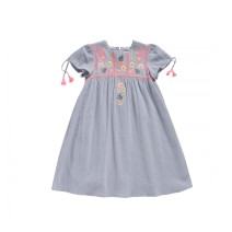 Louise Misha Dress Coconut Silver Cloud