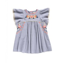 Louise Misha Dress Vanilla Silver Cloud