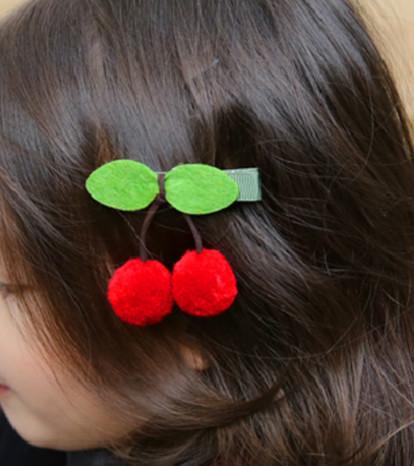 Hårspännen Körsbär Cherry