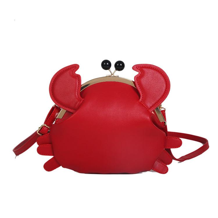 Krabba Väska Red