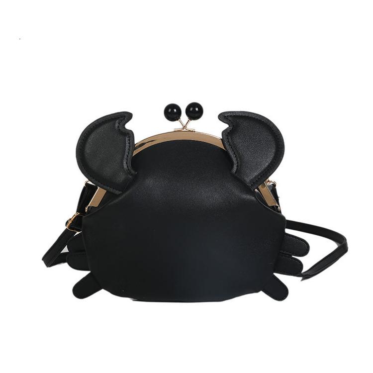 Krabba Väska Black