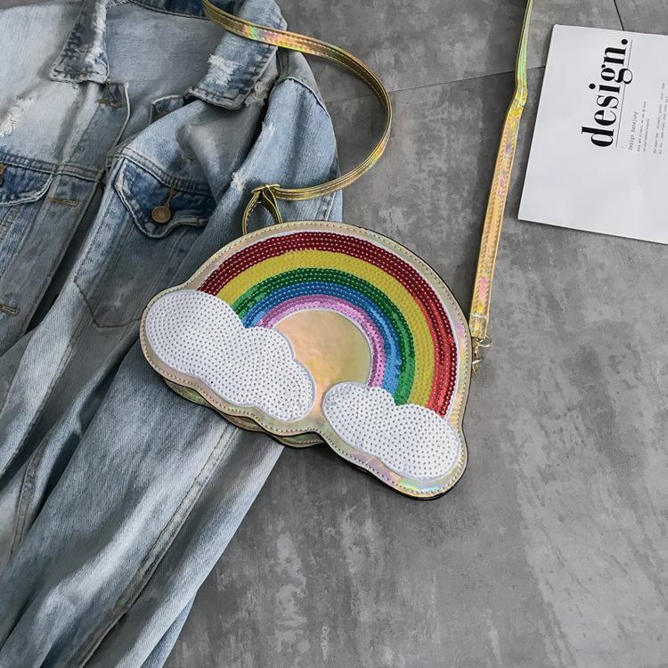 Rainbow Väska Gold