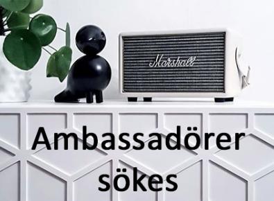 Sök till att bli vår ambassadör