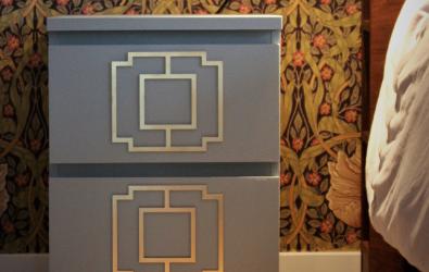 Lea dekor - Malm sängbord