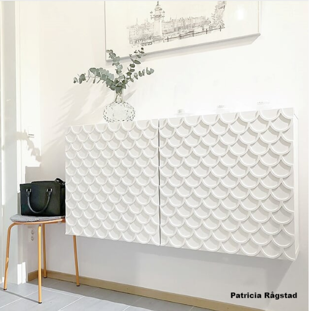Adele - möbeldekor till Bestå skåpdörr 60 x 64 cm