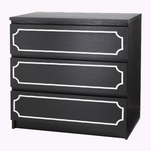 Lasse - furniture decor for IKEA Malm dresser (produced on order)