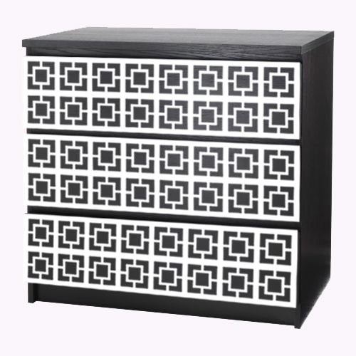 Loa - furniture decor for IKEA Malm dresser (produced on order)