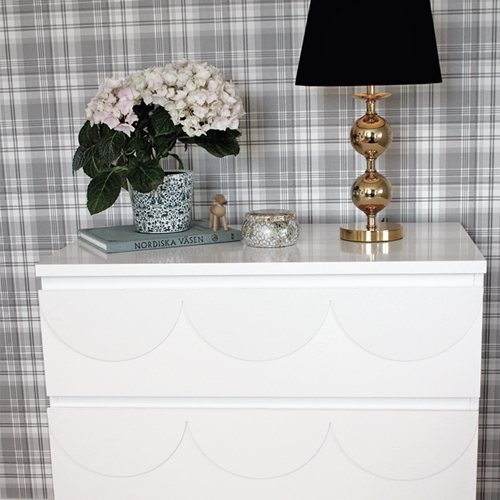 Louise - furniture decor for IKEA Malm dresser (produced on order)