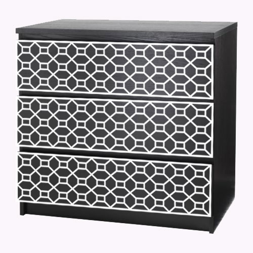 Labbe - furniture decor for IKEA Malm dresser (produced on order)
