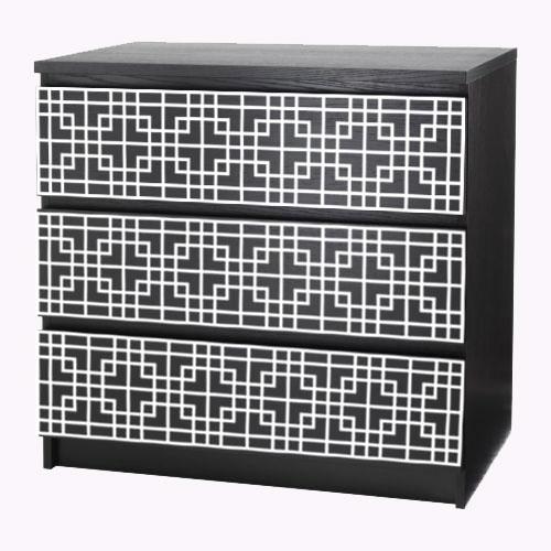 Labbe - furniture decor for IKEA Malm dresser (produced on order)